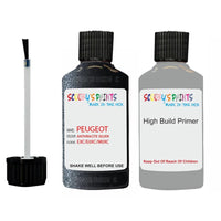 Peugeot Touch Up Paint With Primer Anthracite Silver
