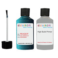 Peugeot Touch Up Paint With Primer Azul Genesis Blue
