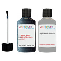 Peugeot Touch Up Paint With Primer Bleu Bourrasque Blue