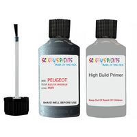 Peugeot Touch Up Paint With Primer Bleu De Saxe Blue