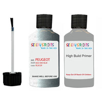 Peugeot Touch Up Paint With Primer Bleu Iseo Blue