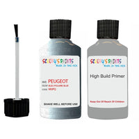 Peugeot Touch Up Paint With Primer Bleu Polaire Blue