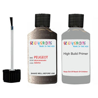 Peugeot Touch Up Paint With Primer Brun Mangaro