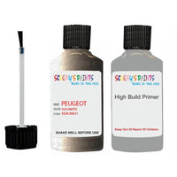 Peugeot Touch Up Paint With Primer Dolomites
