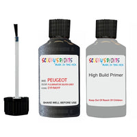 Peugeot Touch Up Paint With Primer Fulminator Silver Grey