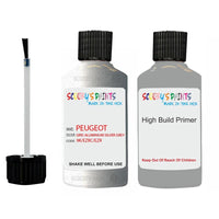 Peugeot Touch Up Paint With Primer Gris Aluminium Silver Grey