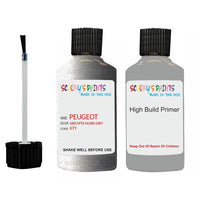 Peugeot Touch Up Paint With Primer Gris Epta Silver Grey