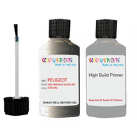 Peugeot Touch Up Paint With Primer Gris Ermitage Silver Grey