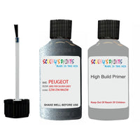 Peugeot Touch Up Paint With Primer Gris Fer Silver Grey