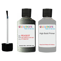 Peugeot Touch Up Paint With Primer Gris Garrigue Silver Grey