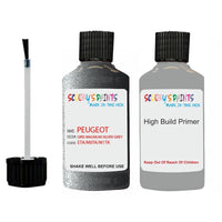 Peugeot Touch Up Paint With Primer Gris Magnum Silver Grey