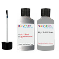 Peugeot Touch Up Paint With Primer Gris Mercure Silver Grey