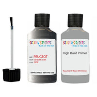 Peugeot Touch Up Paint With Primer Ice Silver Silver