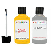 Peugeot Touch Up Paint With Primer Jaune Genet Yellow