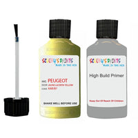 Peugeot Touch Up Paint With Primer Jaune Lacerta Yellow