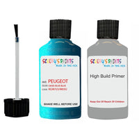 Peugeot Touch Up Paint With Primer Oasis Blue Blue