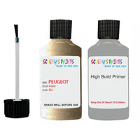 Peugeot Touch Up Paint With Primer Pyrite