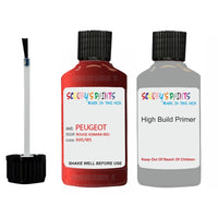 Peugeot Touch Up Paint With Primer Rouge Asmara Red
