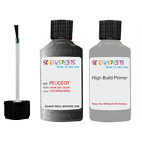 Peugeot Touch Up Paint With Primer Shark Grey Silver