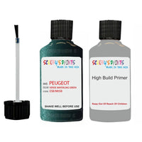 Peugeot Touch Up Paint With Primer Verde Mayerling Green
