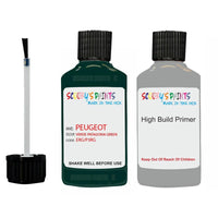 Peugeot Touch Up Paint With Primer Verde Patagonia Green
