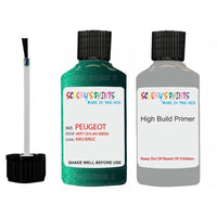 Peugeot Touch Up Paint With Primer Vert Ceylan Green
