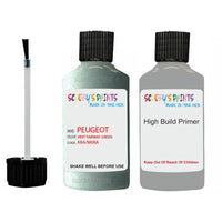 Peugeot Touch Up Paint With Primer Vert Fairway Green