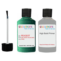 Peugeot Touch Up Paint With Primer Vert Grand Chelem Green
