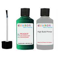 Peugeot Touch Up Paint With Primer Vert Intensive Green