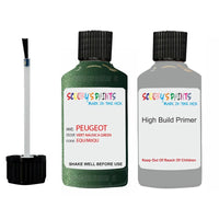 Peugeot Touch Up Paint With Primer Vert Nausica Green