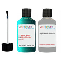 Peugeot Touch Up Paint With Primer Vert Watteau Green