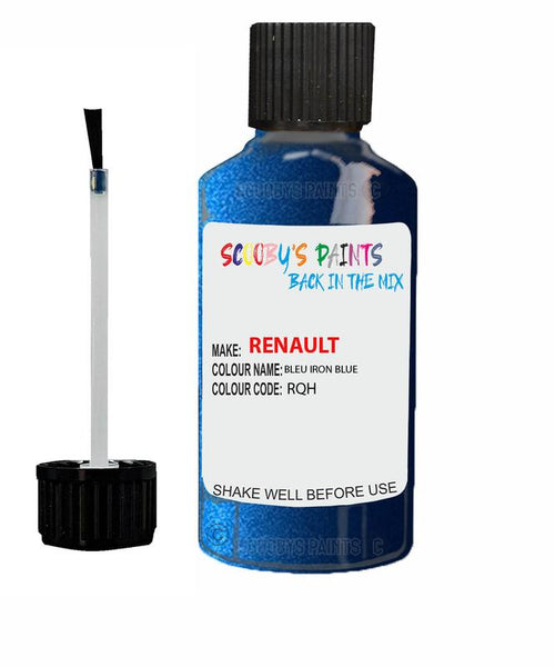 Renault Scratch Repair Car Touch Up Paint Bleu Iron Blue