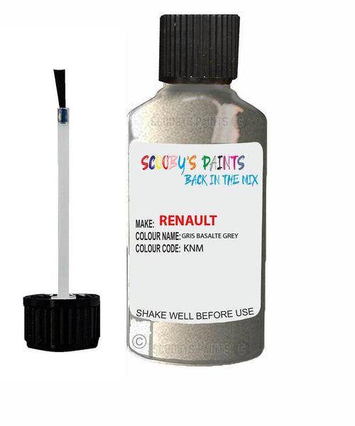 Renault Scratch Repair Car Touch Up Paint Gris Basalte Grey