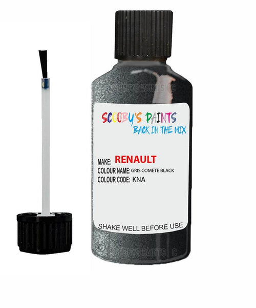 Renault Scratch Repair Car Touch Up Paint Gris Comete Black