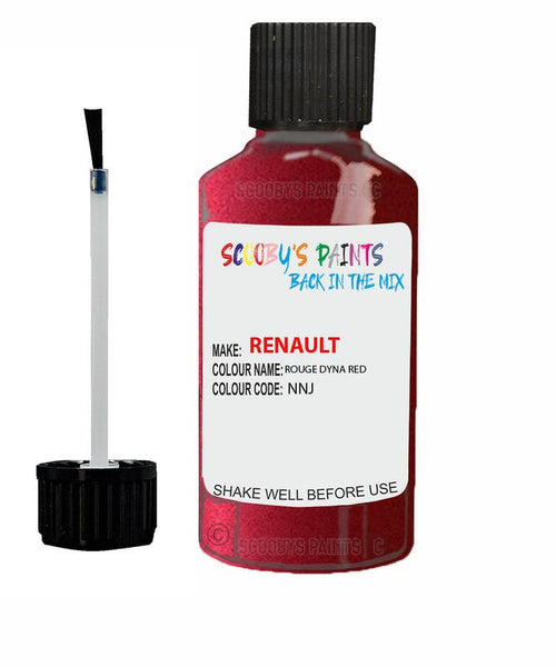 Renault Scratch Repair Car Touch Up Paint Rouge Dyna Red