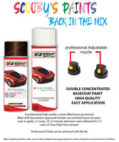 Vauxhall Zafira Tourer Macadamia Aerosol Spray Car Paint + Clear Lacquer 41C/85T/Gop