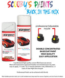 Vauxhall Zafira Tourer Olympic White Aerosol Spray Car Paint + Clear Lacquer 40R/Gaz/Gow