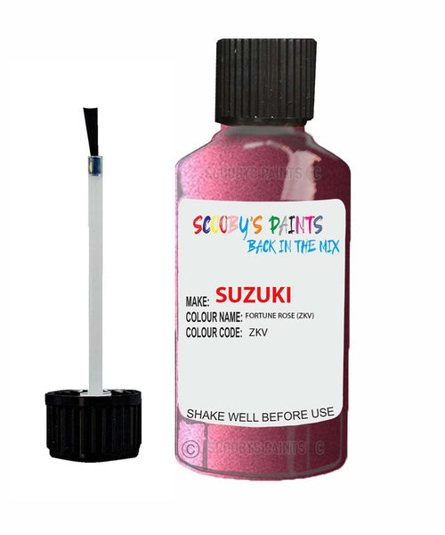 Suzuki Alto Fortune Rose Zkv Car Touch Up Paint Scratch Repair
