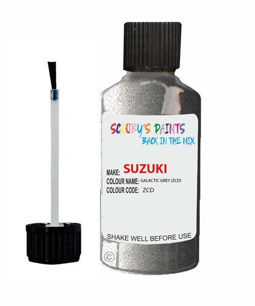 Suzuki Ignis Galactic Grey Zcd Car Touch Up Paint Scratch Repair
