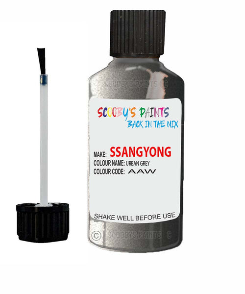 Ssangyong Chairman Urban Grey Aaw Touch Up Paint