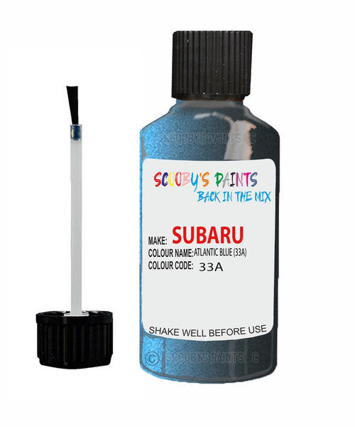 Subaru Outback Atlantic Blue 33A Car Touch Up Paint Scratch Repair 2004-2006