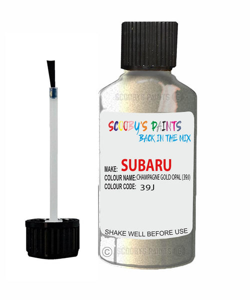 Subaru Outback Champagne Gold Opal 39J Car Touch Up Paint Scratch Repair 2003-2015