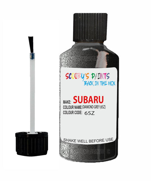 Subaru Outback Diamond Grey 65Z Car Touch Up Paint Scratch Repair 2006-2010