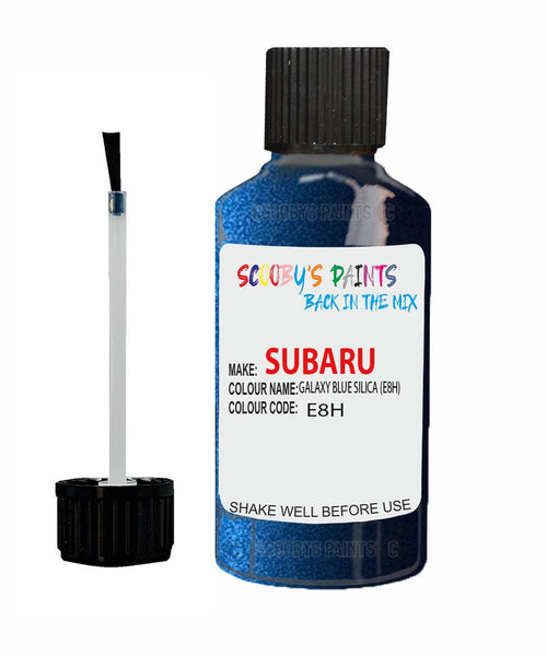 Subaru Legacy Galaxy Blue Silica E8H Car Touch Up Paint Scratch Repair 2009-2015