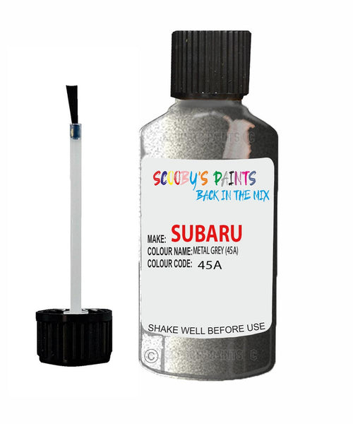 Subaru Legacy Metal Grey 45A Car Touch Up Paint Scratch Repair 2004-2008