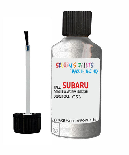 Subaru Impreza Spark Silver Cs3 Car Touch Up Paint Scratch Repair