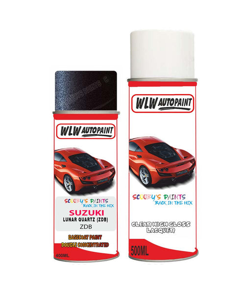 Suzuki Xl7 Lunar Quartz Zdb Car Aerosol Spray Paint + Lacquer