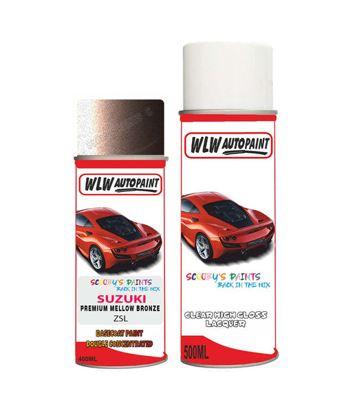 Suzuki Solio Premium Mellow Bronze Zsl Aerosol Spray Paint