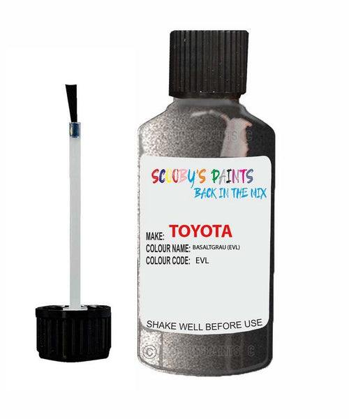Toyota Car Touch Up Paint Basaltgrau Evl Scratch Repair Kit