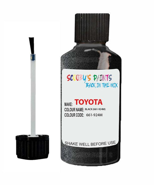 Toyota Car Touch Up Paint Black 661924M Scratch Repair Kit